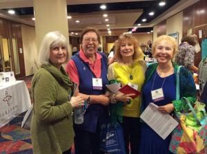 Unity of Women Priests Sibly Dana Reynolds & Ida Raming of RCWP; Janice Sevre Duszynska, and Bridget Mary Meehan, of ARCWP