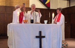 Ordination, Albuquerque, 2015